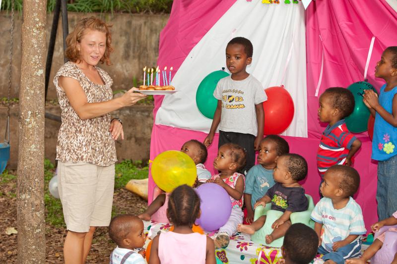 Birthday Celebration Cradle Of Love Baby Home